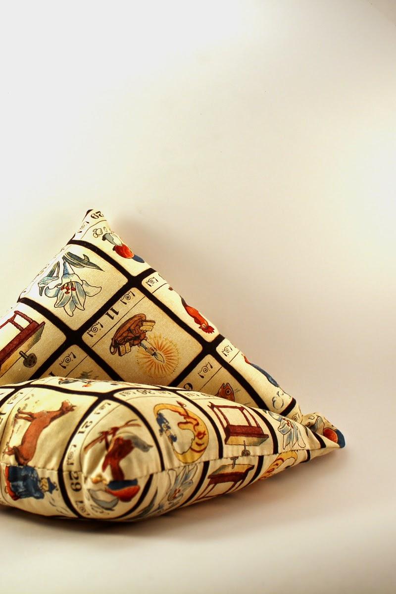 tela tapizado cojines