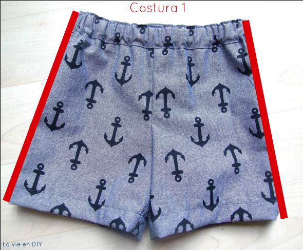 Tutorial costura fácil: shorts para niño (patrón gratuito de Oliver+ ...