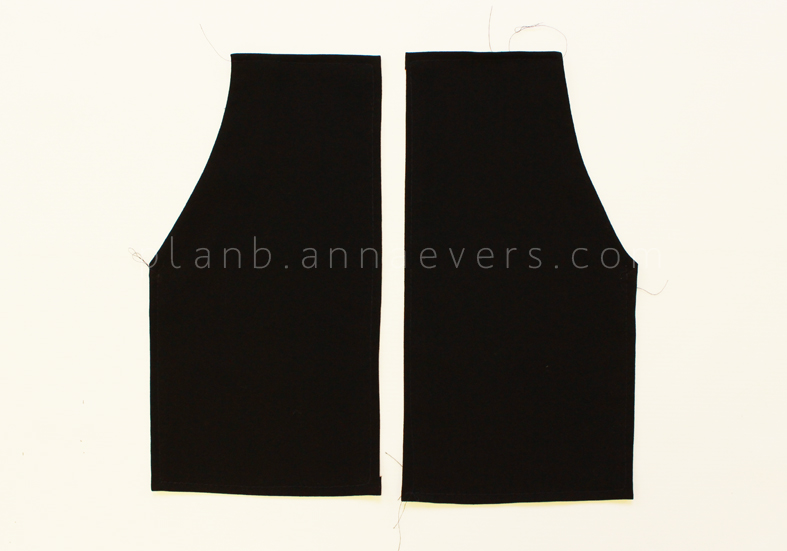 Plan B anna evers DIY short overalls with pockets step 4