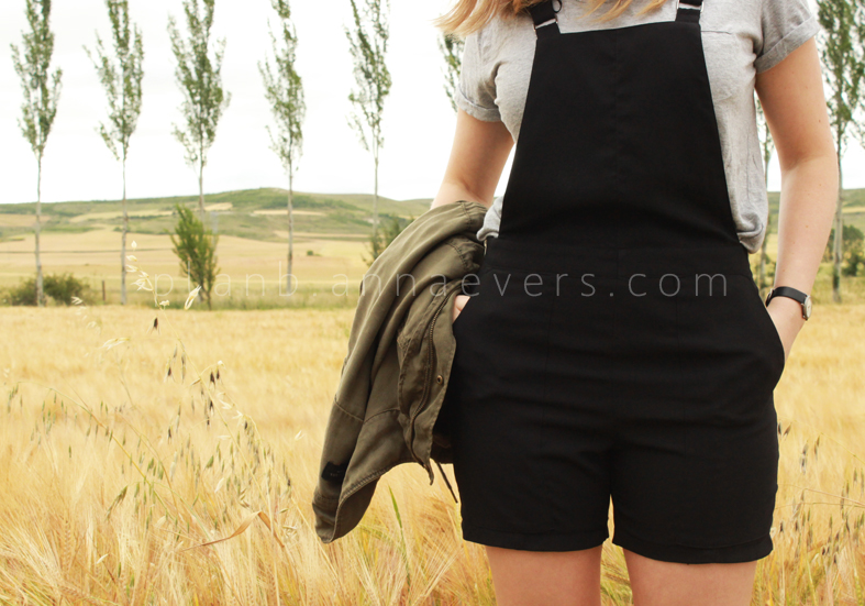 Plan B anna evers DIY short overalls with pockets.