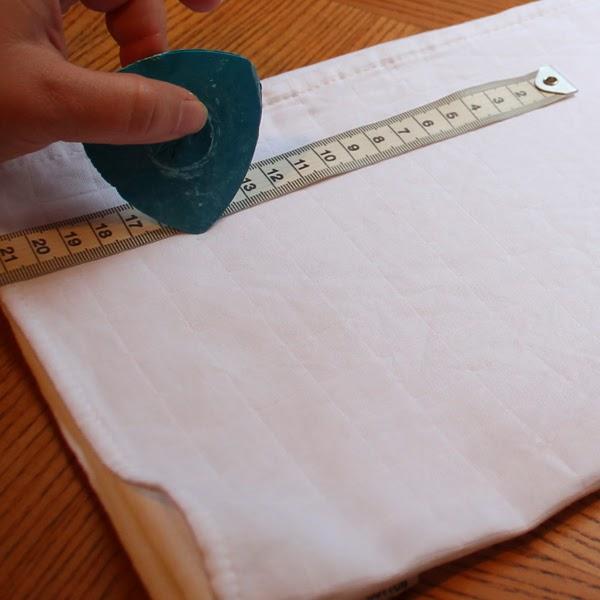 Tutorial: Paño de cocina estampado - stencil personalizado - Handbox ...