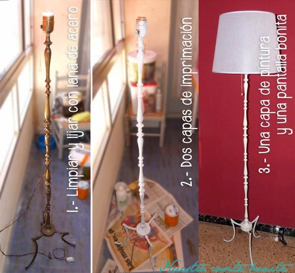 Lámpara HANDBOX pie de de hierro jLzMpGqUSV