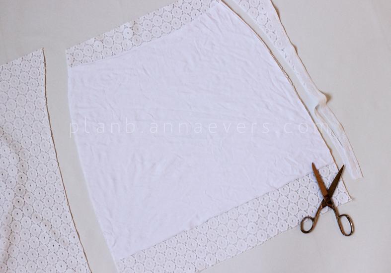 PlanB anna evers DIY Eyelet skirt step 3