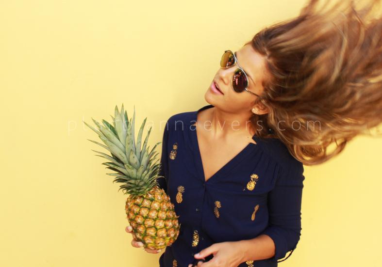Plan B anna evers DIY Pineapple stamp