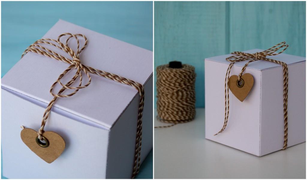 Cajitas blancas decoradas. Souvenir DIY - By Invitation Only Blog2