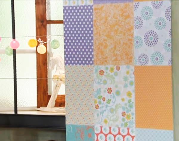Pared tipo patchwork en Deco Hogar | Casa Haus