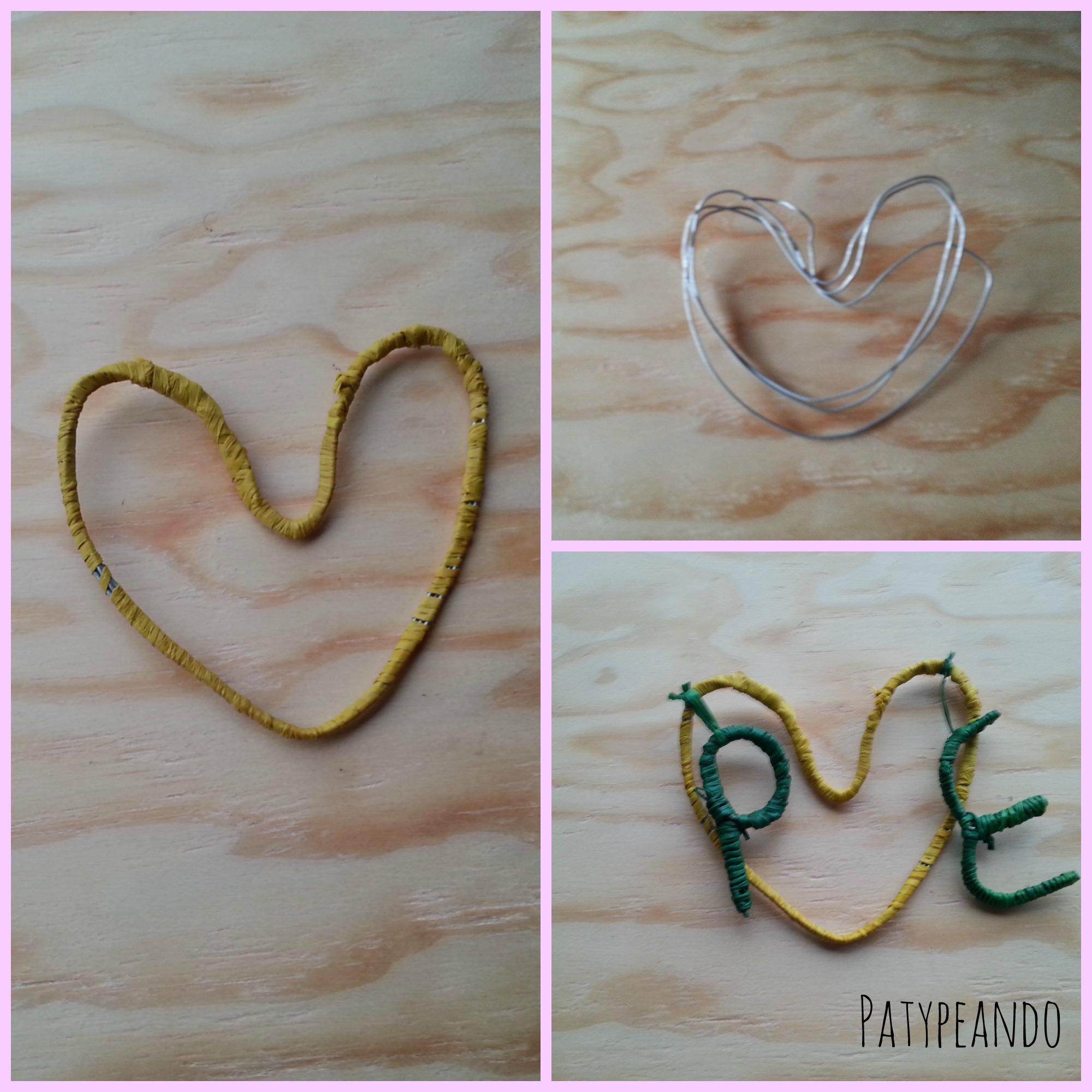 corazon de alambre