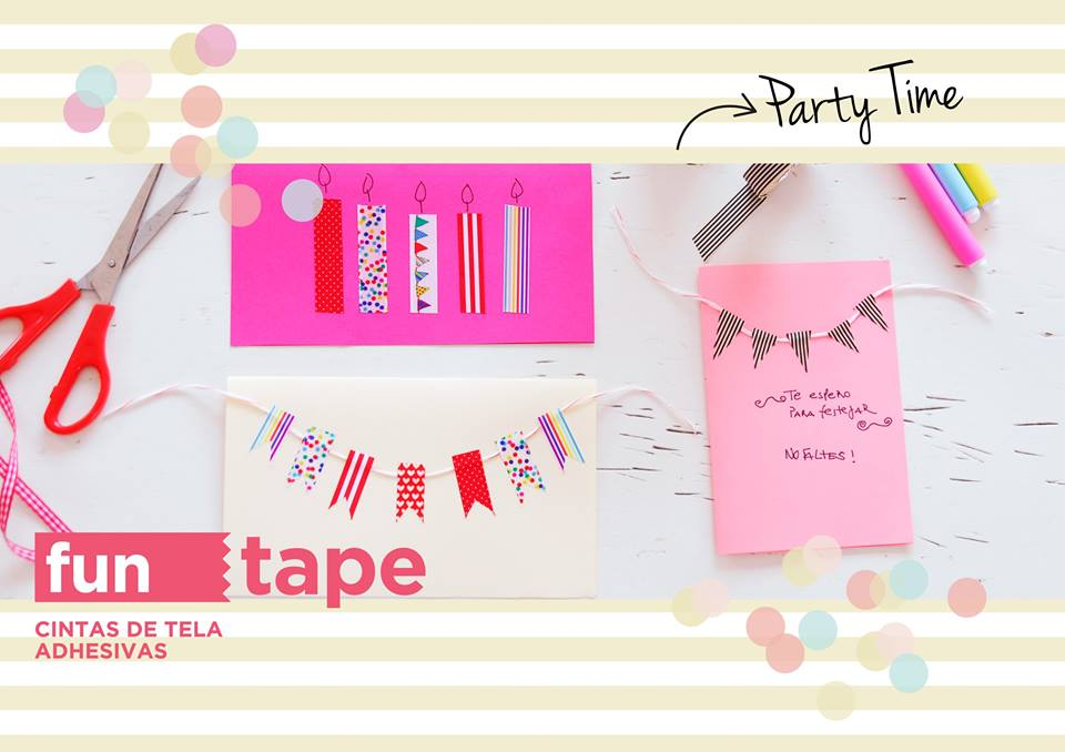 Fun Tapes cinta adhesiva - By Invitation Only Blog 2
