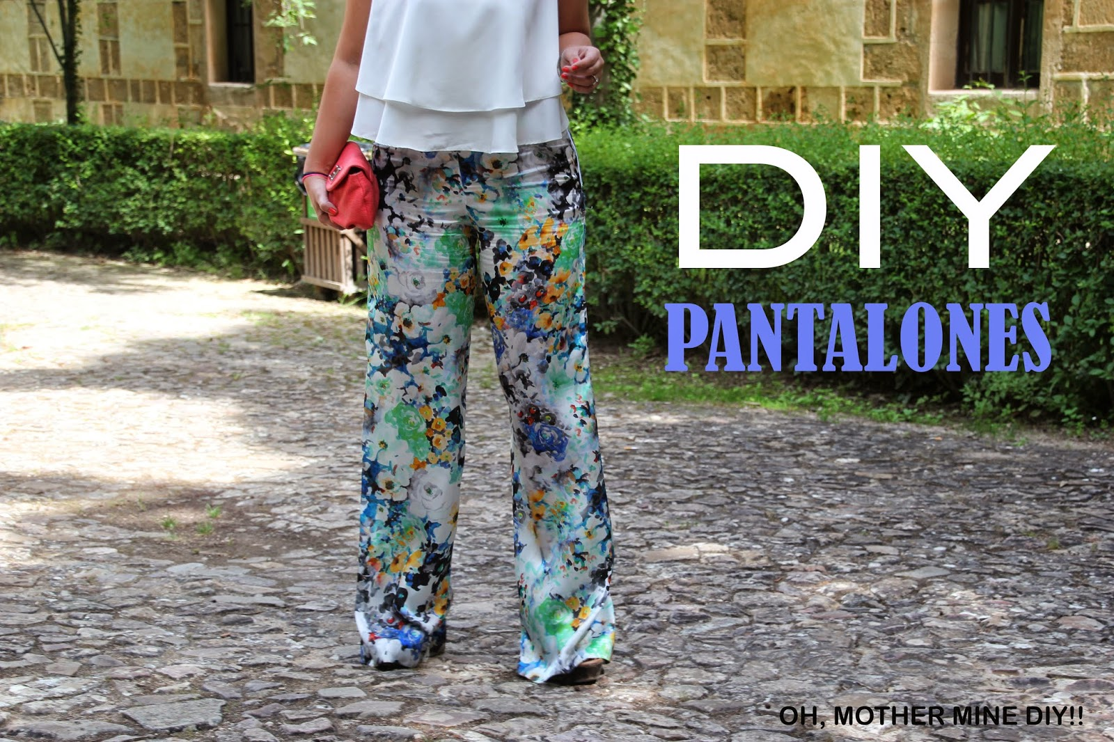 Como hace pantalones pata de elefante. Blog costura y diy