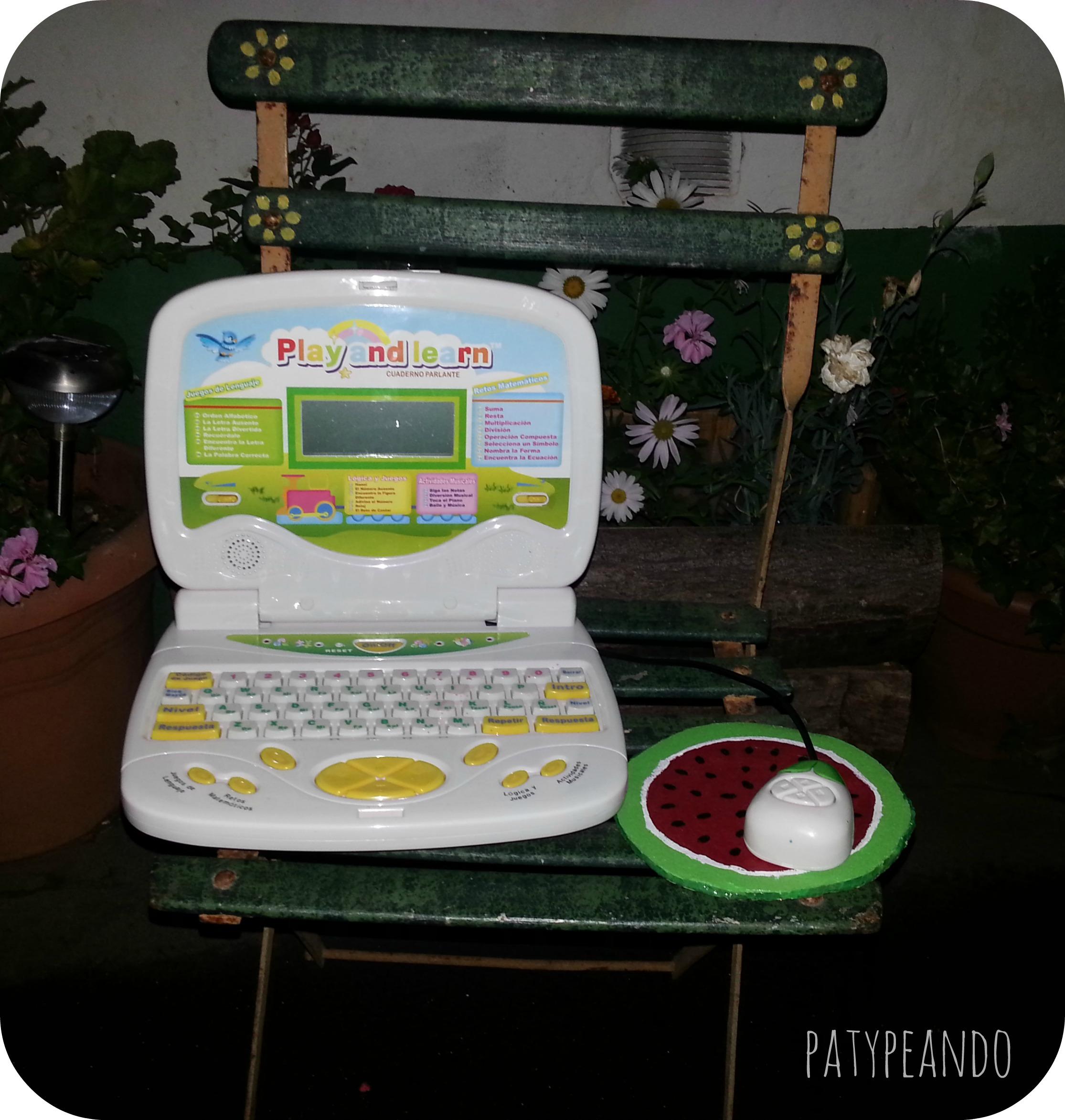 alfombrilla ordenador sandia