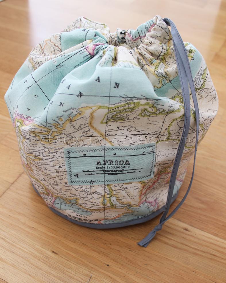 Plan B anna evers DIY Travel kit (toiletry bag)
