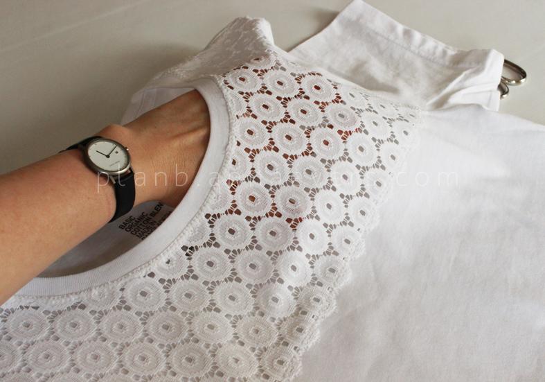 Plan B anna evers DIY Eyelet Tshirt  step 8