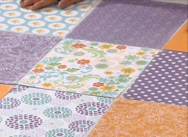 Papeles para pared patchwork en Deco Hogar | Casa Haus