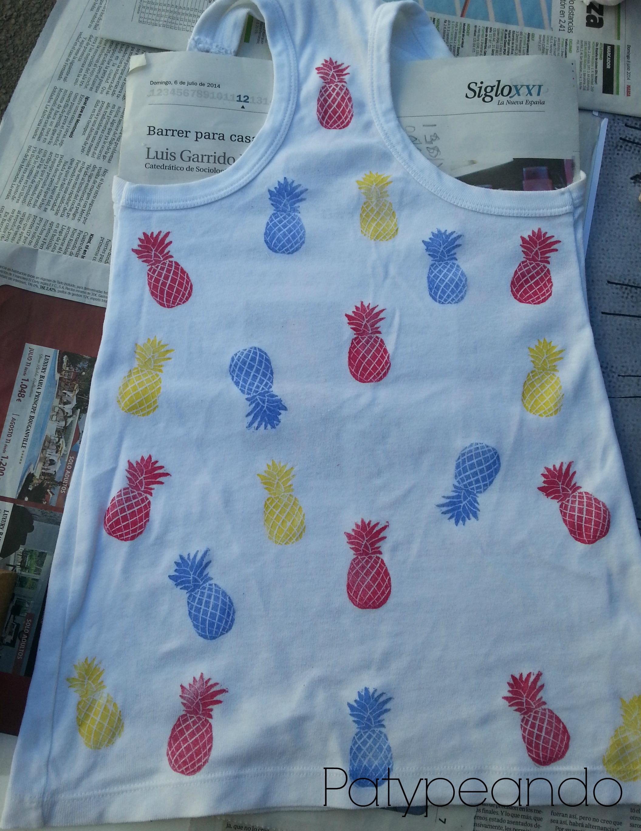 camiseta piñas 3