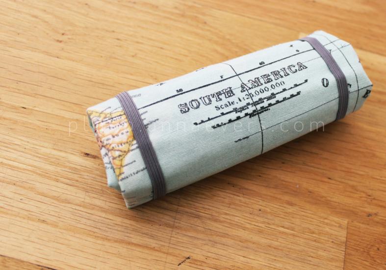 Plan B anna evers DIY Travel kit (Brush bag)