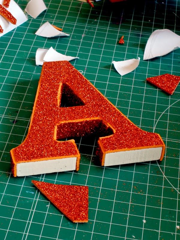 Letras Decoradas Un Diy Muy Facilito Para El Verano Handbox