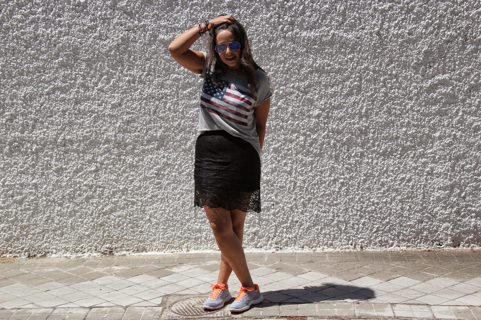 DIY Costura: Falda lencera o falda de encaje con patrones y moldes gratis. Blog de costura y blog diy.
