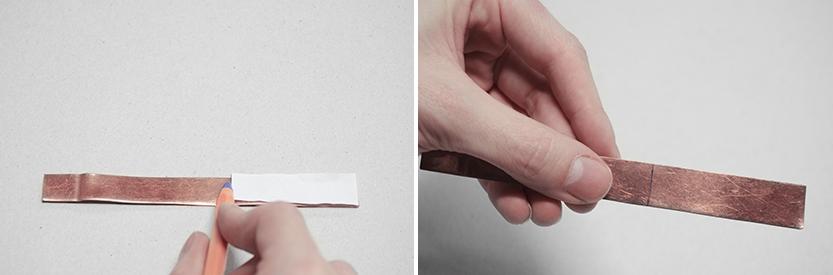 diy anillo cobre fabrica de imaginacion paso2
