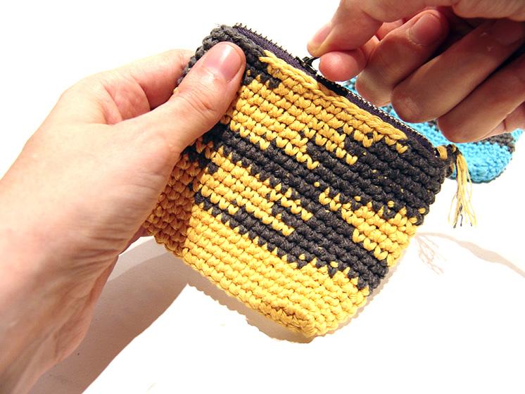 Tutorial ganchillo: Tres monederos de punto - Handbox Craft Lovers ...