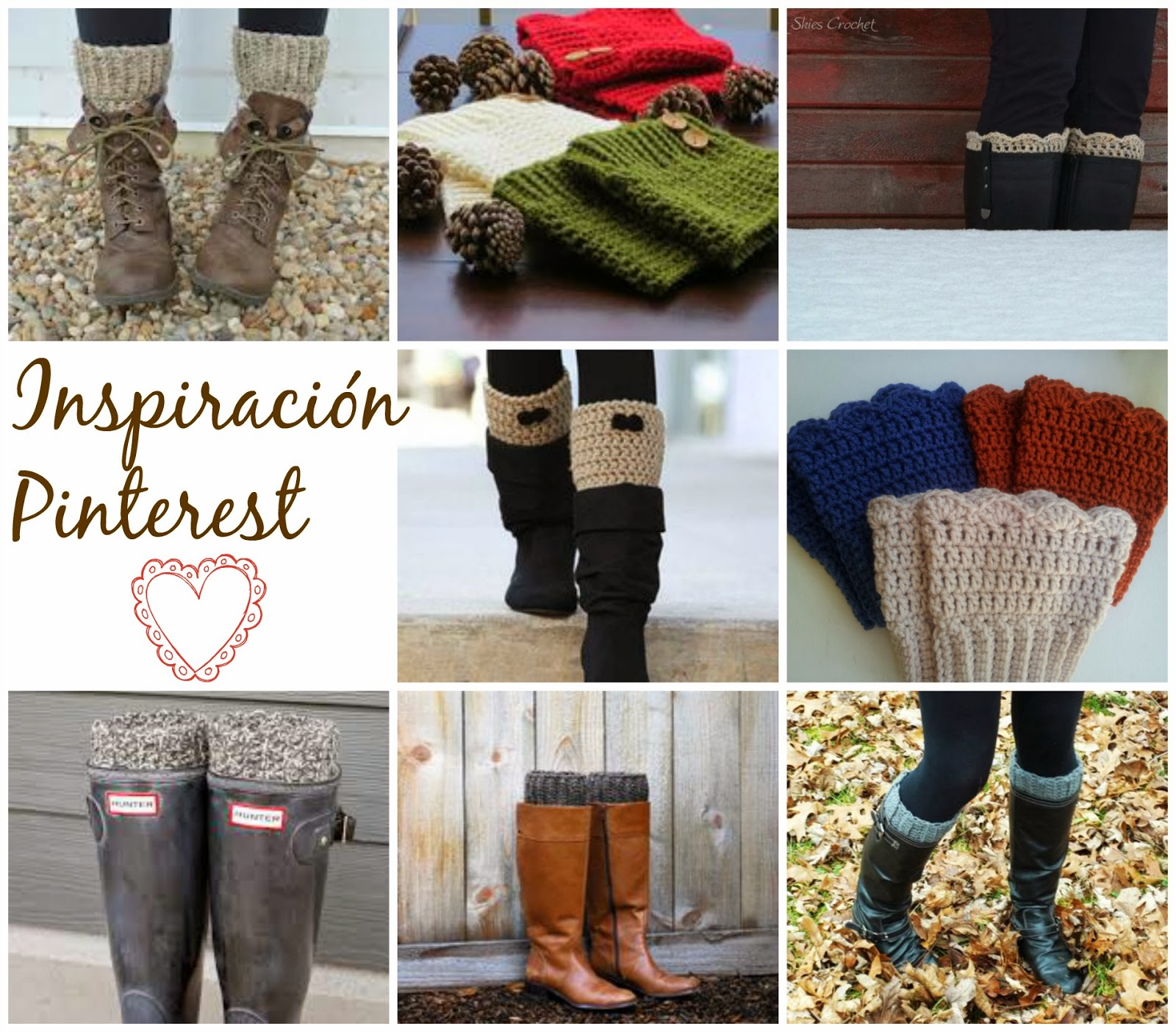 diy cubre botas de crochet - Handbox Craft Lovers | Comunidad DIY ...