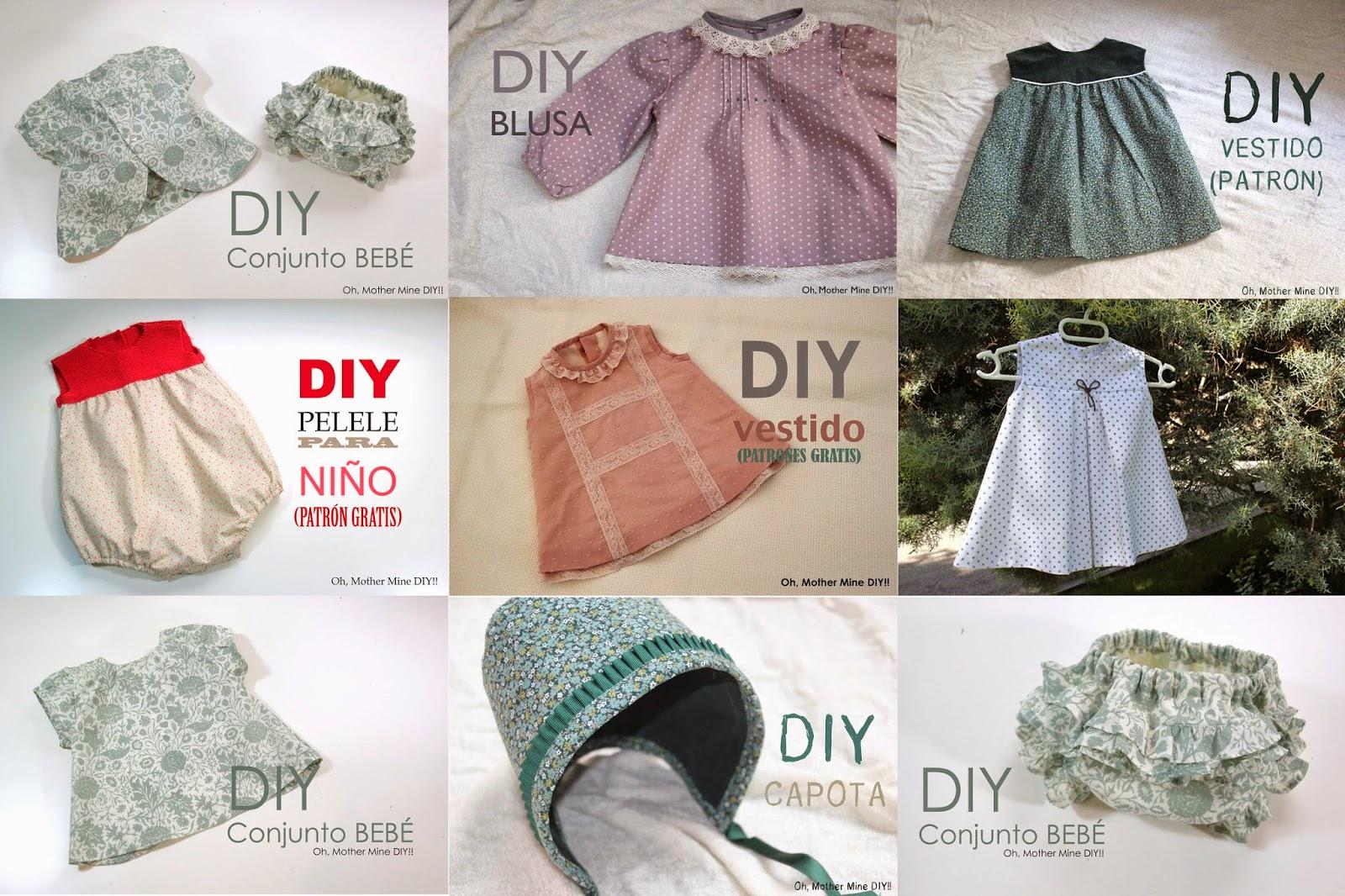 8 prendas de ropa para niñas y bebés que podrás hacer tú misma ...