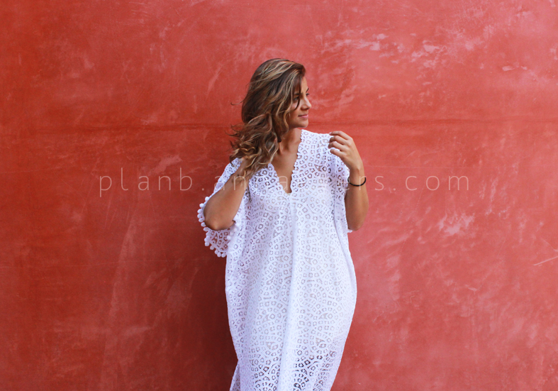 Plan B anna evers DIY Lace kaftan look