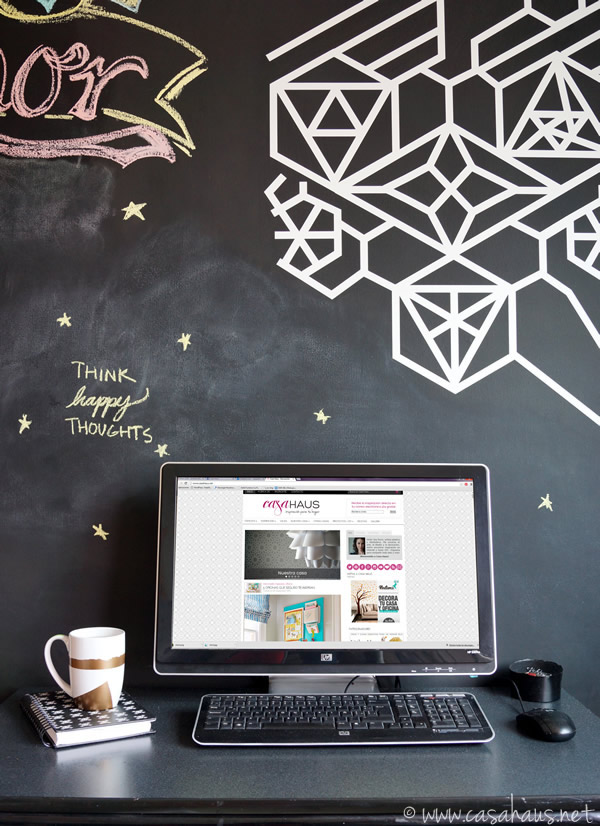 Taza DIY en nuestra oficina / DIY mug in our home office / Casa Haus