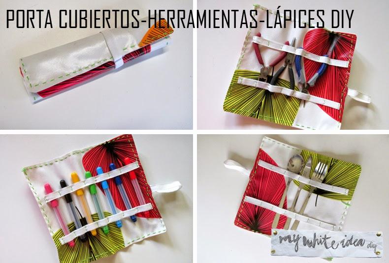 Porta cubiertos - Herramientas - Lápices DIY - Handbox Craft Lovers ...