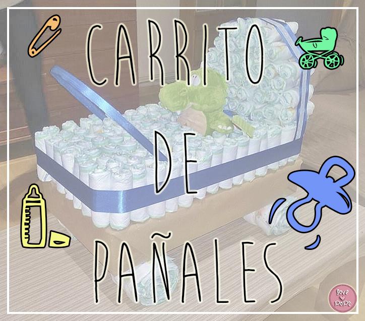 carrito de bebe de pañales - Handbox Craft Lovers | Comunidad DIY ...