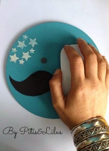 #retopinterest agosto Scarlata&El Señor Don Gato Alfombrilla Ratón Mouse-tache Lunar Tutorial