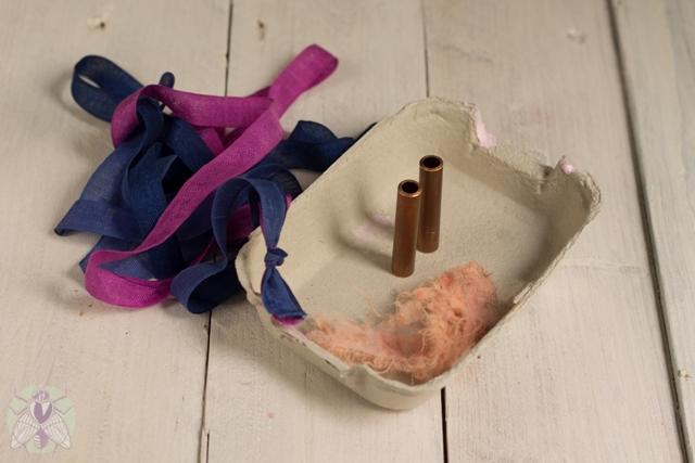limpiar cobre y hacer trenza