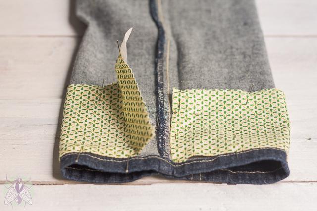 7 colocar sobre el pantalon