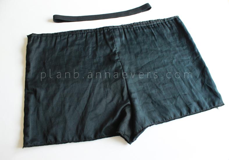 Plan B anna evers DIY Lace short step 2