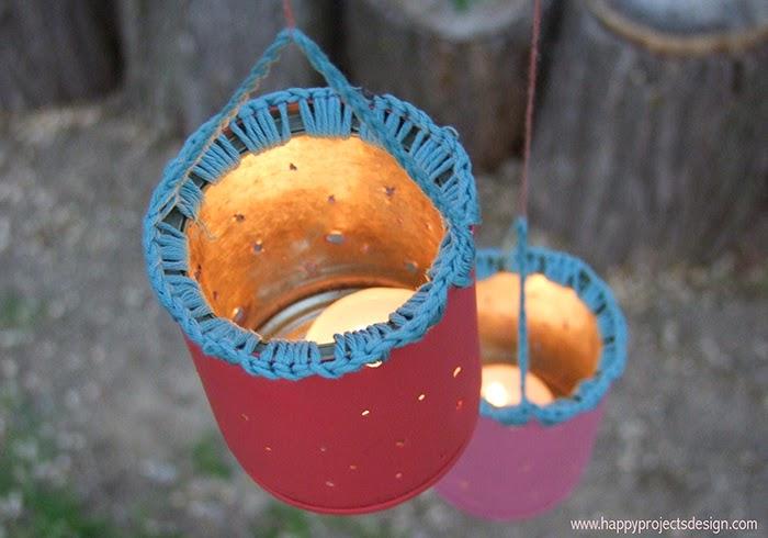 DIY Farolillo Upcycling