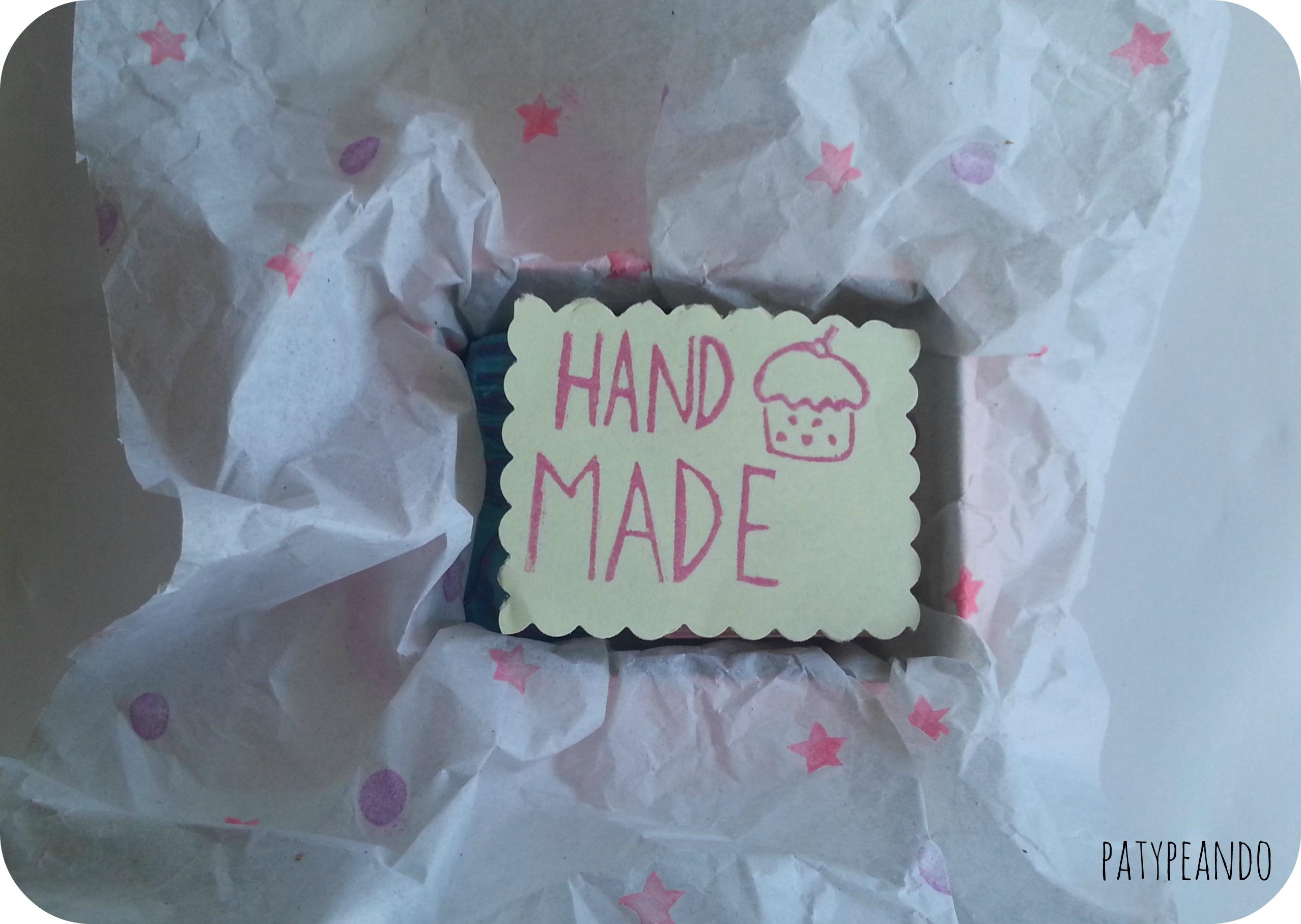 sello hand made 3