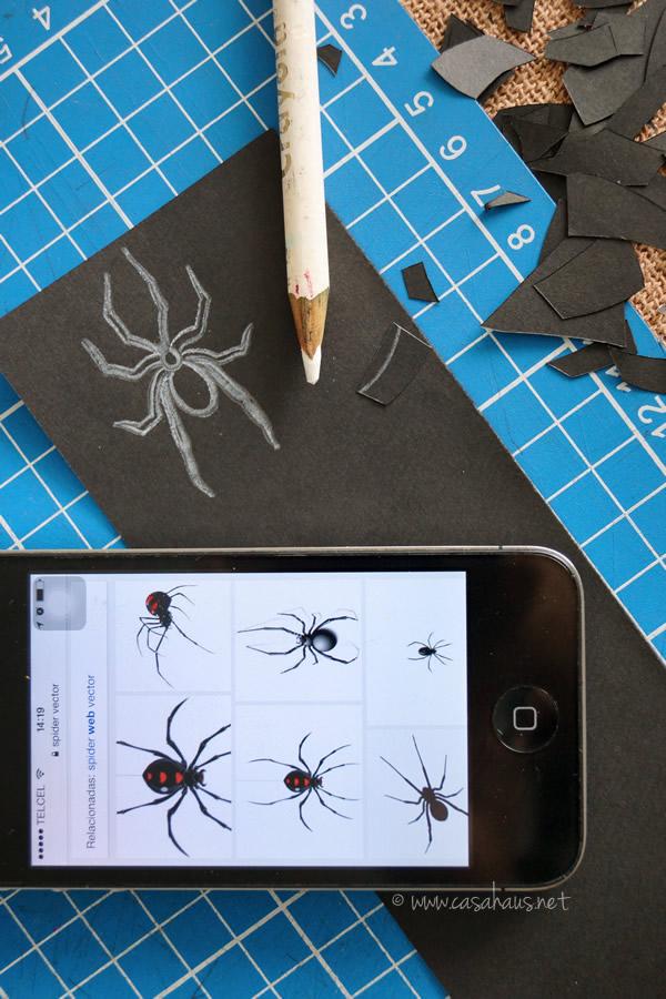 Drawing a spider // Dibujando una araña // Casa Haus