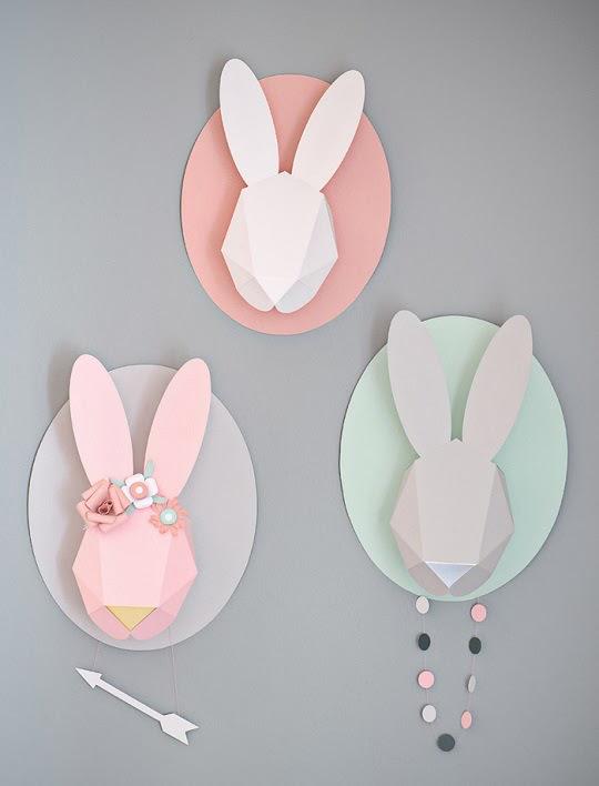 foto cabezas conejo
