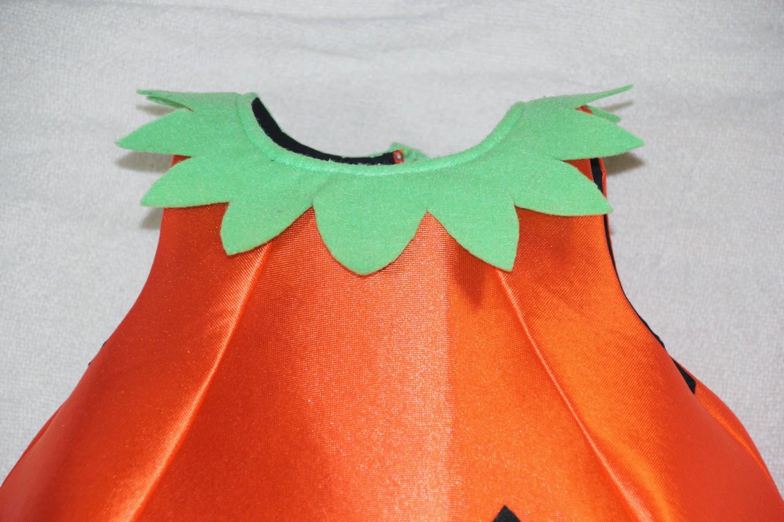 DIY Cómo hacer un DISFRAZ Halloween de CALABAZA para niños (patrón gratis). Blog diy y blog de costura.