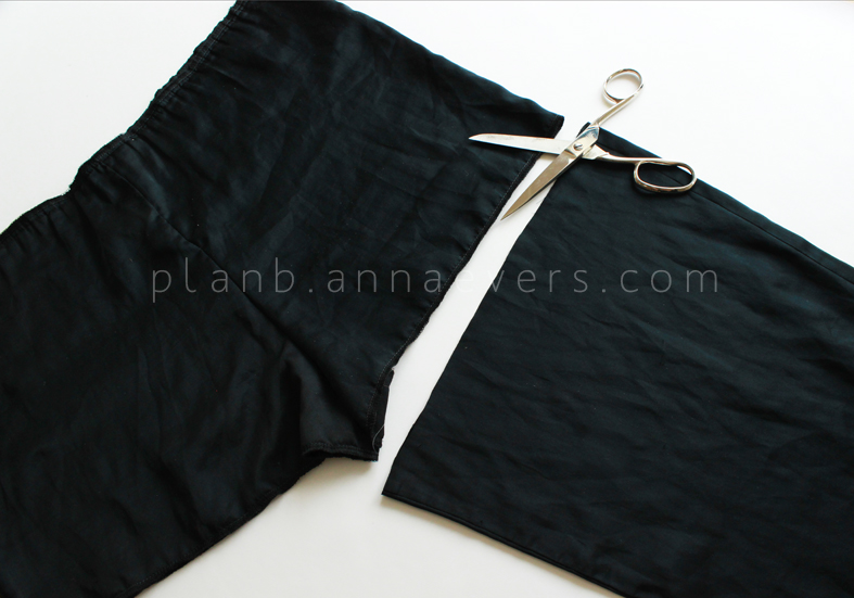Plan B anna evers DIY Lace short step 1