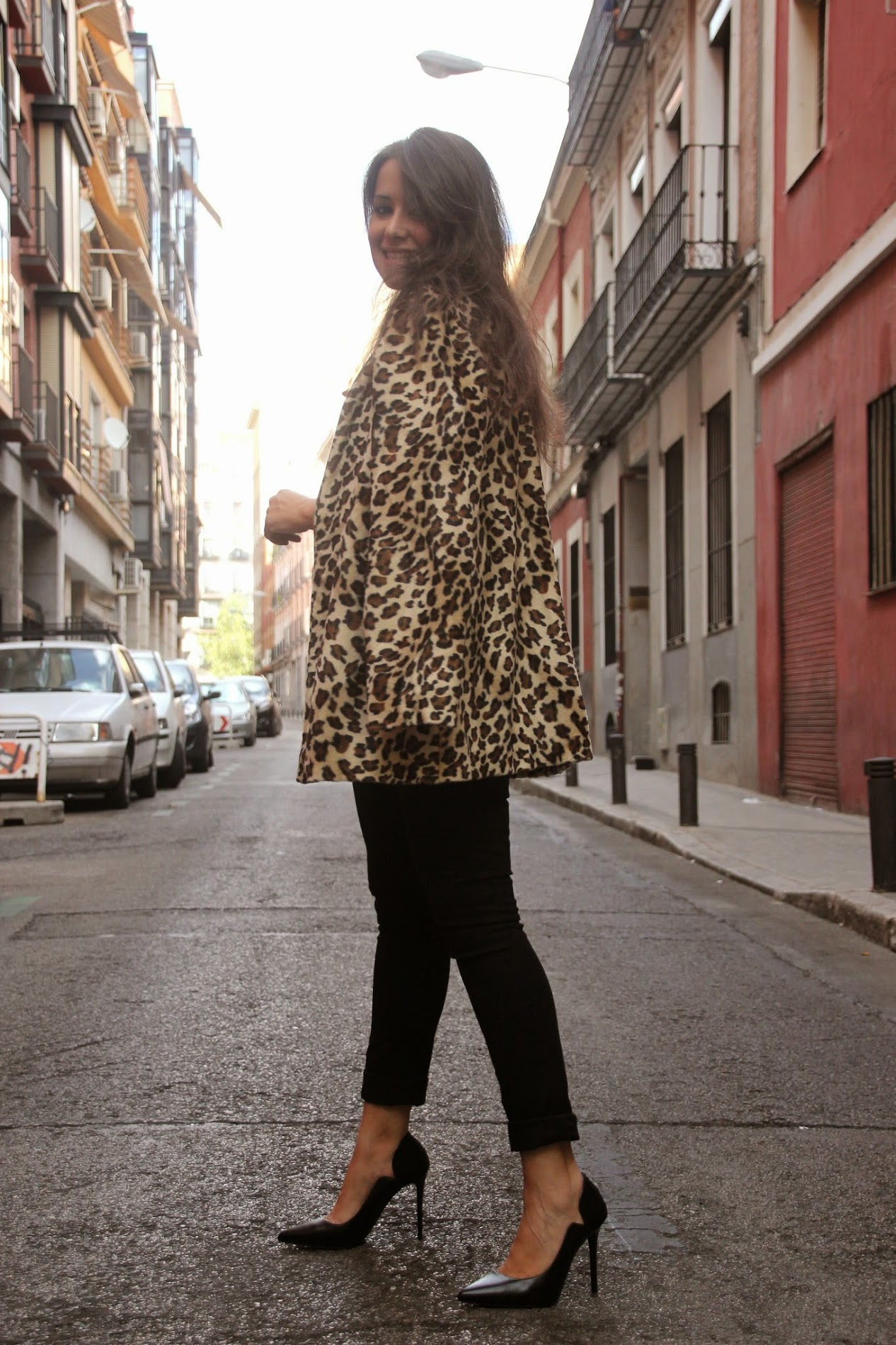 DIY Abrigo de pelos Animal Print (patrones gratis)