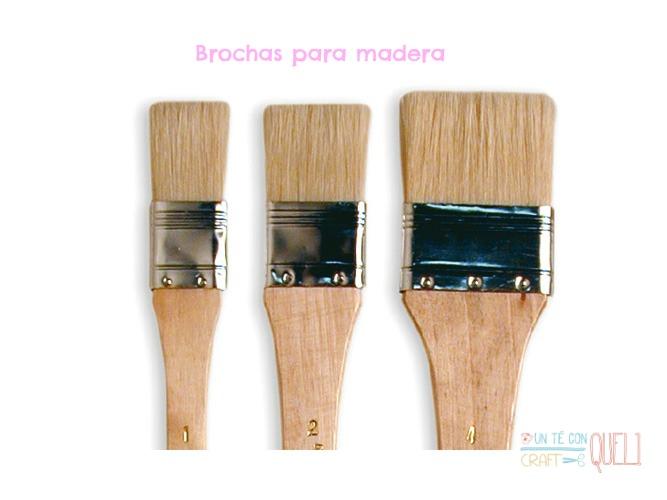 Brochas madera