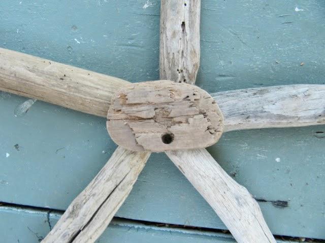 Estrellas decorativas con madera del mar1