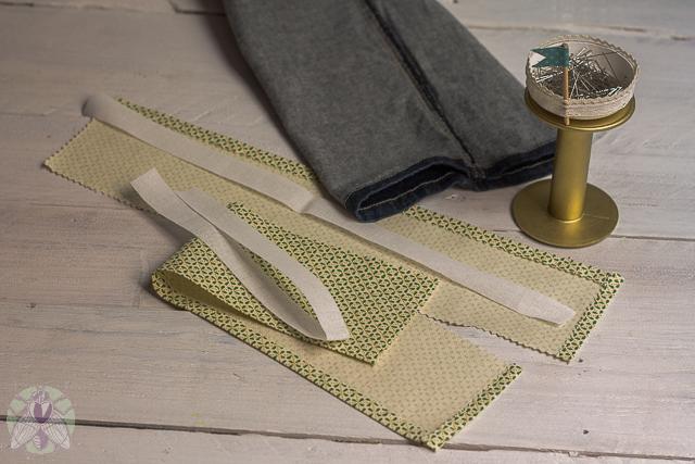 6 planchar y cortar cinta termofusible