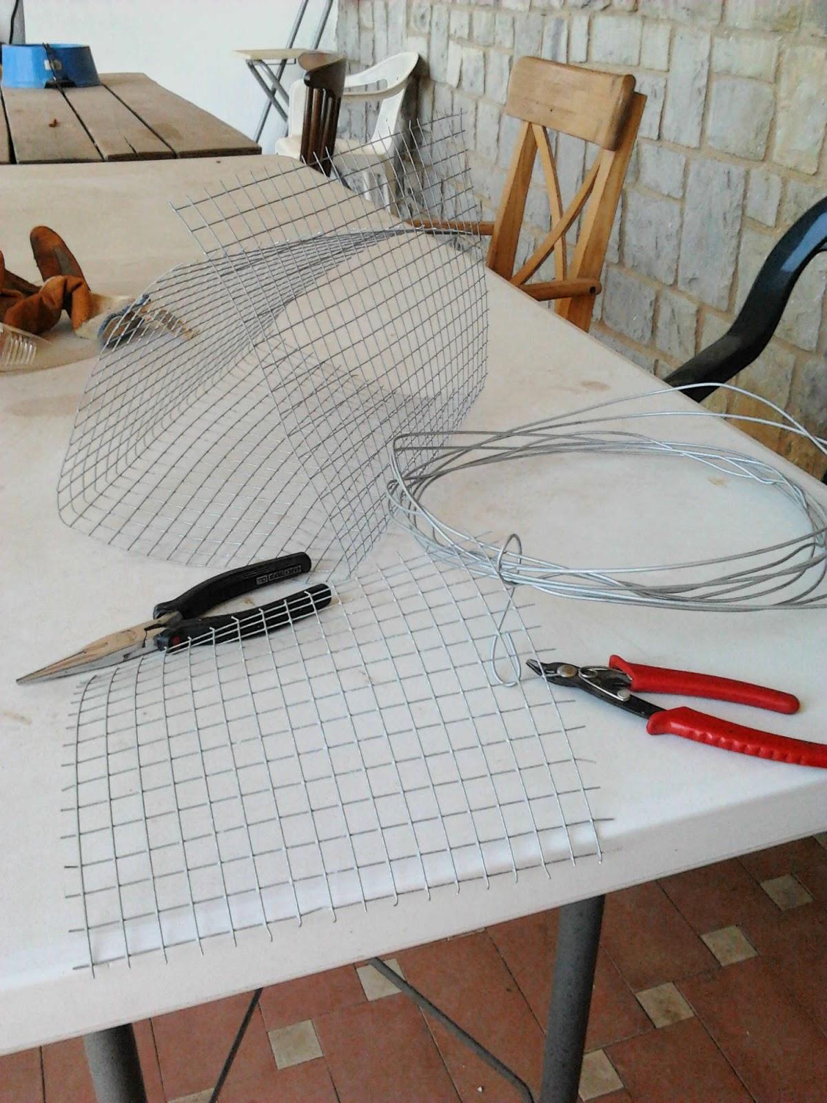 DIY UNA CESTA METAL - Handbox Craft Lovers | Comunidad DIY ...