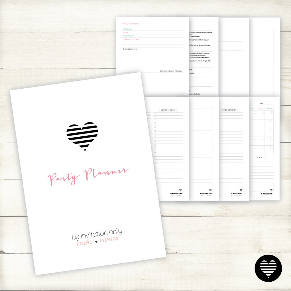 Party Planner Checklist - By Invitation Only-01