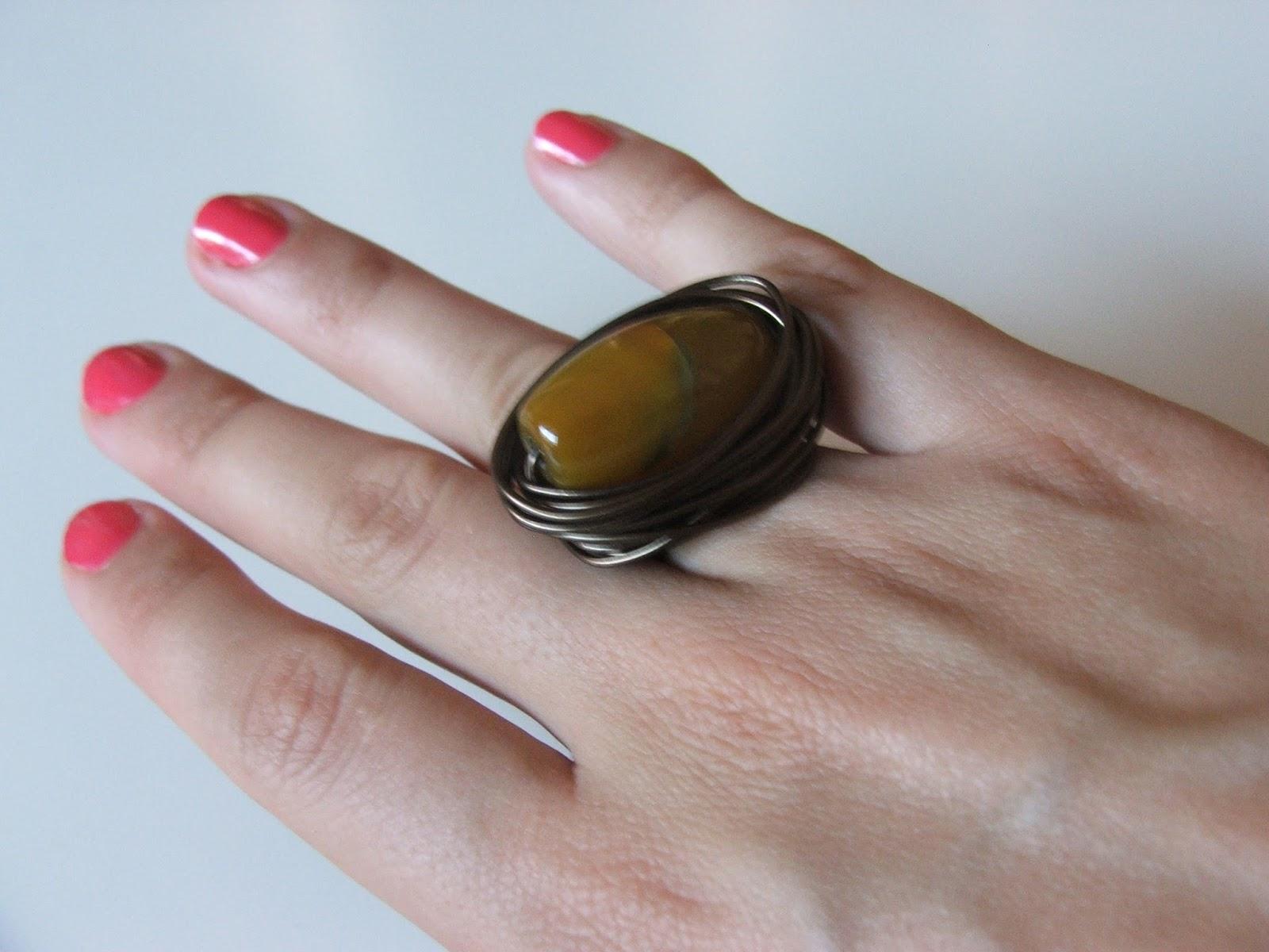 Tutorial anillo de hilo mágico