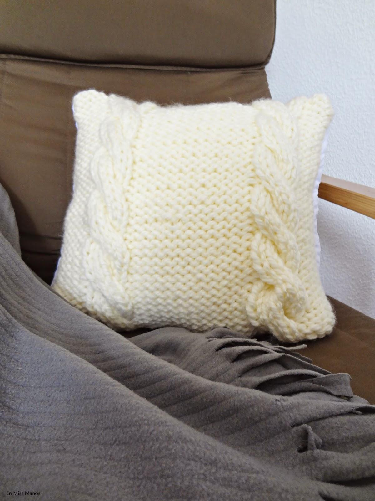 cojines de lana + diy con patrón - Handbox Craft Lovers | Comunidad ...