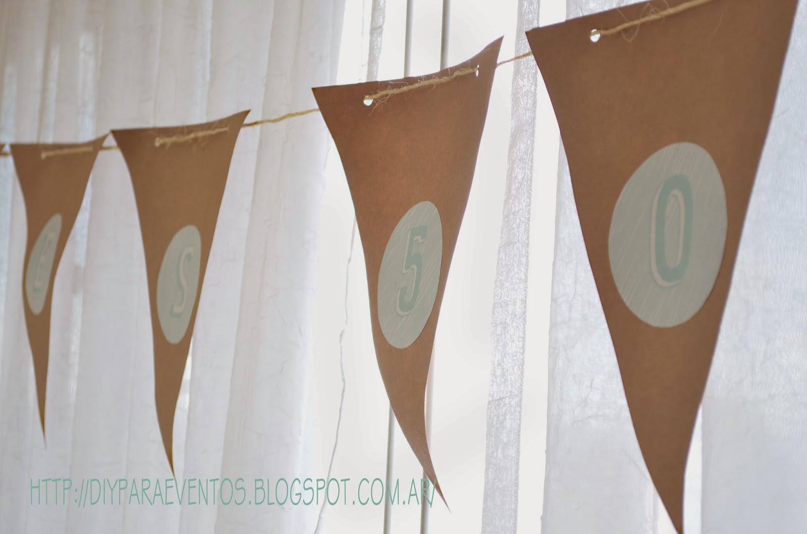 Moldes DESCARGABLES para banderines - Handbox Craft Lovers ...