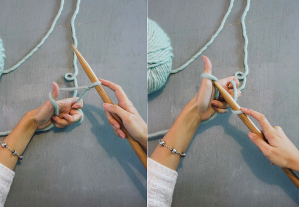 como aprender a hacer punto - we are knitters (4)