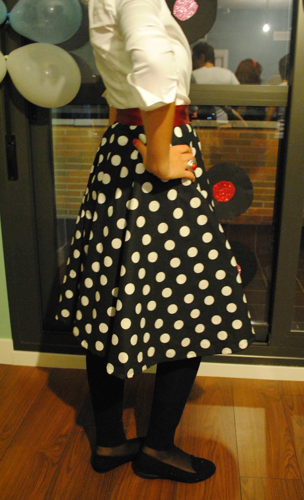 DIY falda años 60 disfraz